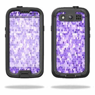 MightySkins Protective Vinyl Skin Decal Cover for LifeProof Samsung Galaxy S III S3 Case fre Sticker Skins Stained Glass Cell Phones & Accessories