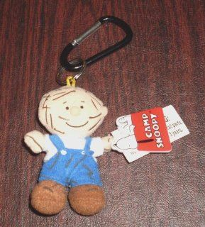 Peanuts Pig Pen Plush Doll Deluxe Keychain Camp Snoopy Key chain Pig Pen Toys & Games