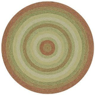 Canyon Reversible Braided Indoor/Outdoor Round Rug, Wild Flower   Area Rugs