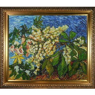 Art Blossoming Chestnut Branches Hand Painted Oil Canvas Art by Van Gogh   Prints
