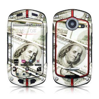 Benjamins Design Protective Decal Skin Sticker (High Gloss Coating) for Casio G'zOne Commando C771 Cell Phone Cell Phones & Accessories