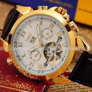 Luxery Auto Mechanical 4 Hands Date Day Men's Sport Watch Watches