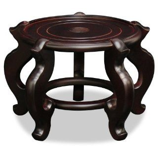 "Shop Chinese Wooden Fishbowl Planter Display Stand   10.5"" Dia. at the  Home D�cor Store. Find the latest styles with the lowest prices from ChinaFurnitureOnline"
