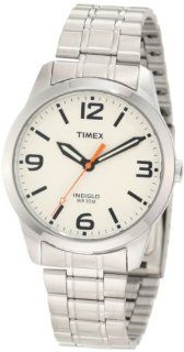 Timex Men's T2N635 Weekender Classic Casual Cream Dial Bracelet Watch Timex Watches