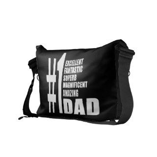 Fathers Day Birthdays Christmas Number One Dad Commuter Bags