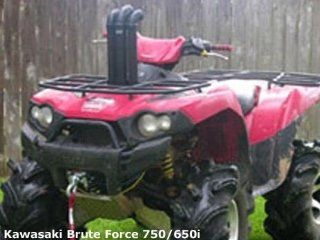 Highlifter Kawasaki Brute Force 650 (2005 10) Bayou Airbox & Clutch Housing Snorkel Kit. HILSNORKEL K650 B Automotive