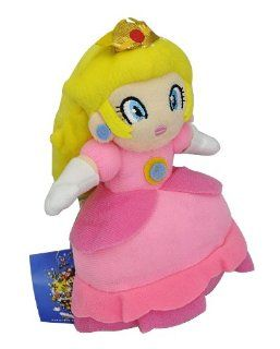 "Super Mario Plush Series   7"" Princess Peach Pin Toys & Games"
