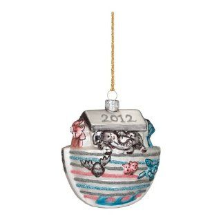 Waterford Marquis 2012 Baby's First Christmas Blown Glass Ornament  Baby Keepsake Products  Baby