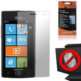 Anti Glare Screen Protector for Samsung Focus Flash SGH I677 Cell Phones & Accessories