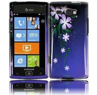 Nightly Flower Hard Case Cover for Samsung Focus Flash i677 Cell Phones & Accessories