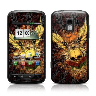 Radiant Skull Design Protective Skin Decal Sticker for LG Enlighten VS700 Cell Phone Cell Phones & Accessories