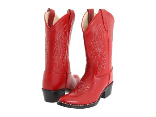 Old West Kids Boots J Toe Western Boot (Toddler/Little Kid) Red