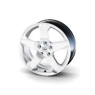 "2012 2013 Chevrolet Sonic 17"" White Rim Wheel Package by GM 19259636 JA974 Automotive"