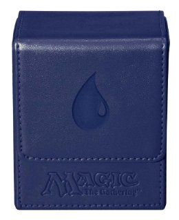 Ultra Pro Magic the Gathering MTG Mana Magnetic Flip Box (Deck Box / UPR86107) Blue Toys & Games