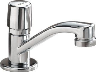 Delta Faucet 701LF HDF Metering, Single Handle Metering Faucet, Chrome   Bathroom Sink Faucets