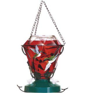 Birdscapes 701 Hummingbird Edition 24 Ounce Glass Hummingbird Feeder  Pet Bird Feeders  Patio, Lawn & Garden
