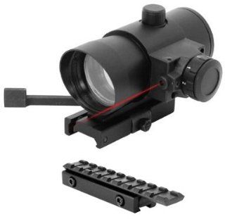 Tactical QD Red Dot Scope w/ Mount Fits Mossberg Plinkster .22 Rifle Henry AR7 US Survival Rifle Tippmann A5 98 Markers  Red Dot And Laser Sights  Sports & Outdoors