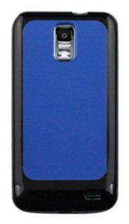 CP 817762011621 2 Tone Crystal Shield Case for Samsung i727 Galaxy S II Skyrocket   1 Pack   Non Retail Packaging   Black/Blue Cell Phones & Accessories