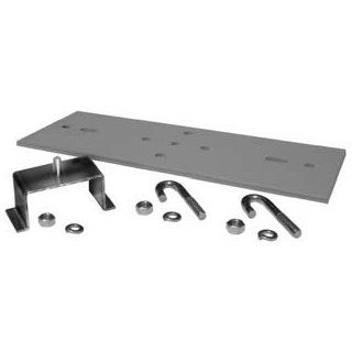 "12730 712   Chatsworth Rack to Runway Mounting Plate Using Hat Shaped Bracket; 9 to 12""W Shelving Hardware"