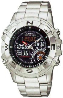 Casio Men's AMW705D 1AV Silver Stainless Steel Quartz Watch with Black Dial Casio Watches