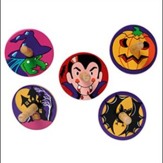 halloween spinning tops by little butterfly toys