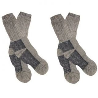 RSG Kids & Adult Merino Wool Insulating Boot Socks, 2 Pack (7 Colors) Clothing