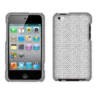 Apple iPod Touch 4 Silver Full Diamond Cell Phones & Accessories