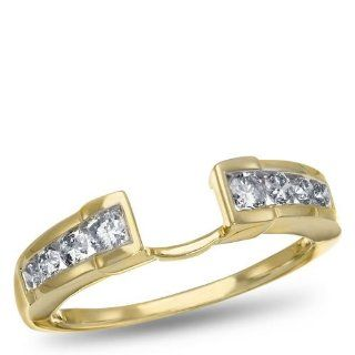 14K Yellow Gold and Diamond Ring Guard, 1/2 ctw. Jewelry