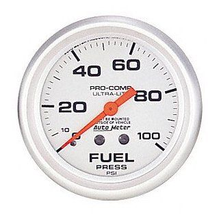 Auto Meter 4412 Ultra Lite Mechanical Fuel Pressure Gauge Automotive