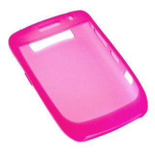 Cellet RIM Blackberry 8900 Curve Hot Pink Jelly Silicone Case Cell Phones & Accessories
