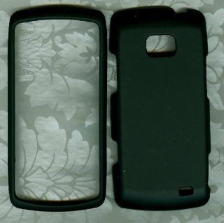 Black LG ally vs740 verizon phone hard case Cell Phones & Accessories