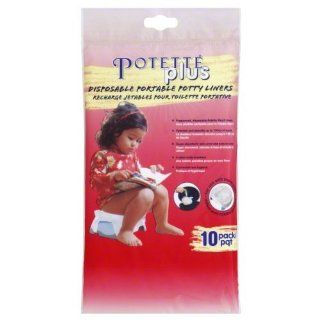 Potette Plus Disposable Portable Potty Liners 10 pack Health & Personal Care