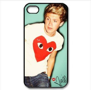 B2CSELLER Premium Customized English Irish pop boy band One Direction Niall Horan slim fit flexible TPU Case Cover for Iphone4/4S Cell Phones & Accessories