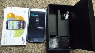 Samsung GALAXY S3 LTE Blue Unlocked AT&T No Contract SGHI747 Cell Phones & Accessories
