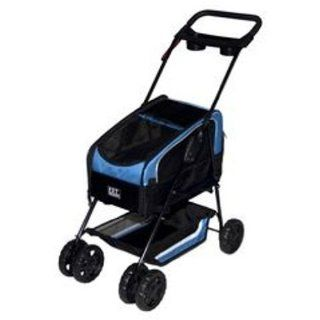 Pet Gear Travel System ll Pet Stroller for Cats and Dogs, Blue  Pet Carrier Strollers