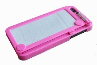 Retro Style/design Magic Back Drawing Board Case for Apple Iphone 5  Hot Pink Cell Phones & Accessories