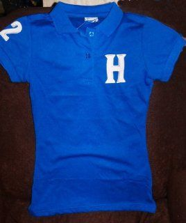 2010 WORLD CUP LADIES HONDURAS SOCCER POLO T SHIRT JERSEY SIZE SMALL Sports & Outdoors