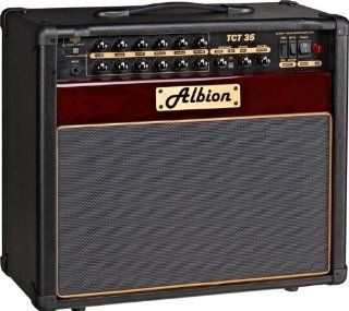 Albion Amplification TCT Series TCT35C 35W Tube Guitar Combo Amp Plum Musical Instruments
