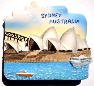 Sydney Opera House Australia, resin 3d Fridge Magnet Handmade Good Gift Fast Ship From Thailand  Refrigerator Magnets