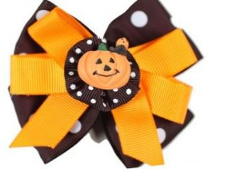 Baby Girl Accessory HALLOWEEN BARRETTE Hair Bow Sophias Style Clothing