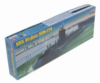 Hobby Boss USS Virginia SSN 774 Boat Model Building Kit Toys & Games