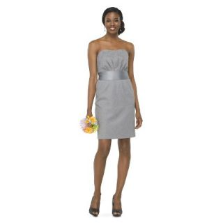 TEVOLIO Womens Lace Strapless Dress   Cement   12