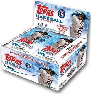 2013 Topps Series 1 MLB Baseball Huge 24 Pack Factory Sealed Retail Box with 288 Cards at 's Sports Collectibles Store