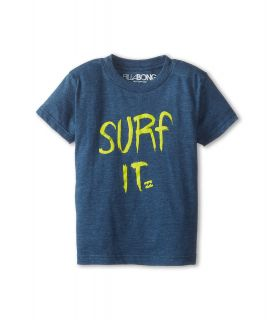Billabong Kids Surf It S/S Tee Boys Short Sleeve Pullover (Blue)