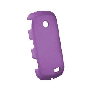Purple Hard Snap On Cover Case for Samsung Solstice II 2 SGH A817 Cell Phones & Accessories