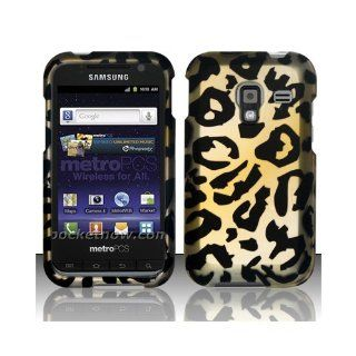 Yellow Cheetah Hard Cover Case for Samsung Galaxy Admire 4G SCH R820 Cell Phones & Accessories