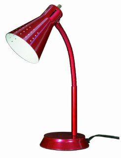 Nuvo 60/821 Goose Neck Desk Lamp, Small, Metallic Red   Desk Gifts