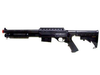 LE CA 870 CQB Shotgun RIS Shot Gun  Airsoft Shotguns  Sports & Outdoors