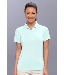 adidas Golf Solid Jersey Polo 14 Womens Short Sleeve Knit (Green)