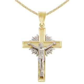 sunburst pendant in 14k two tone gold orig $ 279 00 237 15 buy